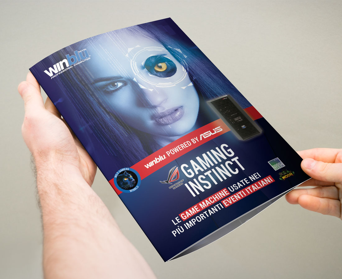 Brochure Brevi per Game's Week Milano