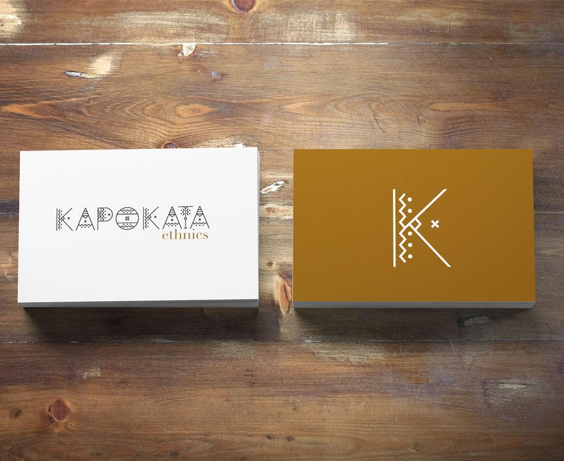 KAPOKATA Ethnics logo design by Az Visual design