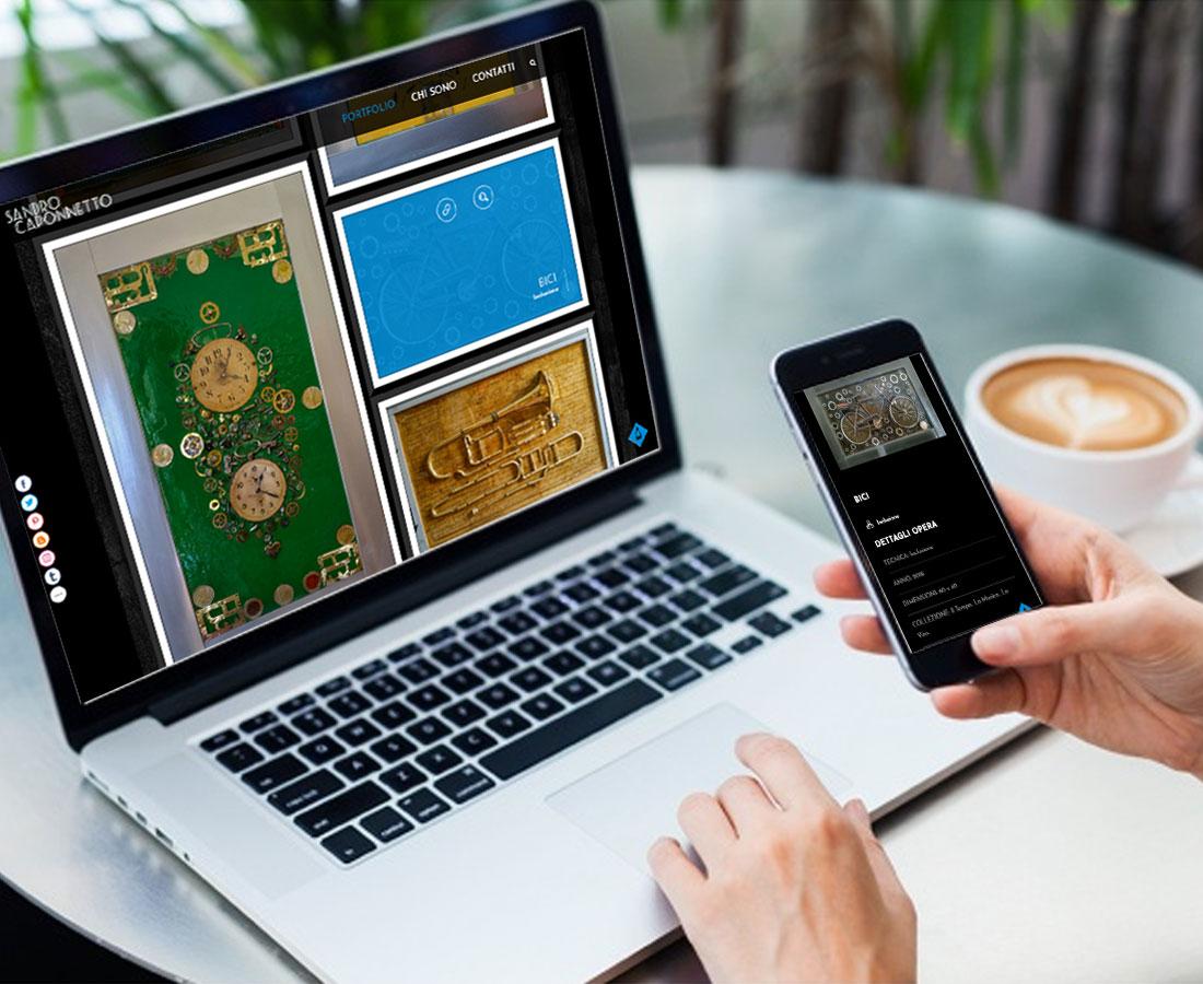 sito web e logo design